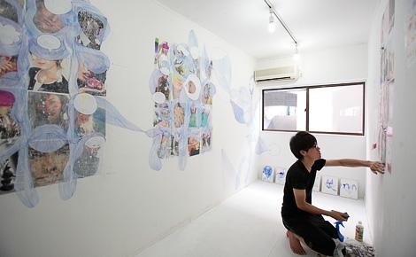 平井豊果 Yutaka Hirai 《変革ドローイング》