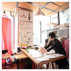 un:ten / 伊東純子(アーティスト、デザイナー)の洋服制作スタジオ
